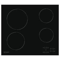 Indesit RI 161 C - Варочная поверхностьВарочные панели<br>Indesit RI 161 C - , стеклокерамика, 58х51 см, черный