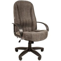 Русские кресла РК 185 20-23 (серый) - Стул офисный, компьютерныйКомпьютерные кресла<br>Русские кресла РК 185 - офисное кресло, обивка ткань, подлокотники и крестовина из пластика, механизм топ-ган (фиксация в рабочем положении), газлифт, макс. вес 120кг.