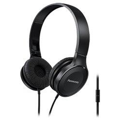 Panasonic RP-HF100M - НаушникиНаушники и Bluetooth-гарнитуры<br>Panasonic RP-HF100M - наушники с микрофоном, накладные, 26 Ом, 103 дБ, разъем mini jack 3.5 mm, вес 138 г