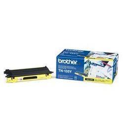 Картридж для Brother BrTN-135Y (желтый) - Картридж для принтера, МФУКартриджи<br>Желтый картридж BrTN-135Y для Brother HL-4040CN, 4050CDN, 4070CDW, DCP-9040CN, MFC-9440CN позволит распечатать до 5000 страниц.